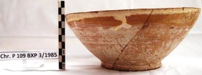 Cyprus Medieval Museum: Bowl (MM135, Chr. P 109 BXP 3/1985)