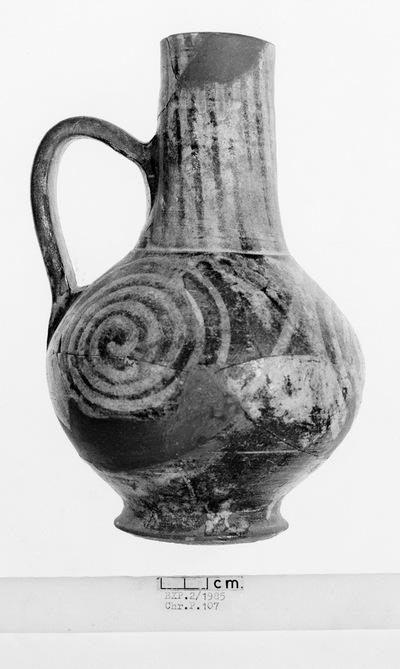 Cyprus Medieval Museum: Jug (MM166, Chr. P 107 B X P 2/1985)