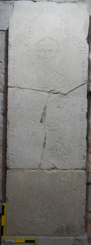 Cyprus Medieval Museum: Tombstone (MM800, T. 3)
