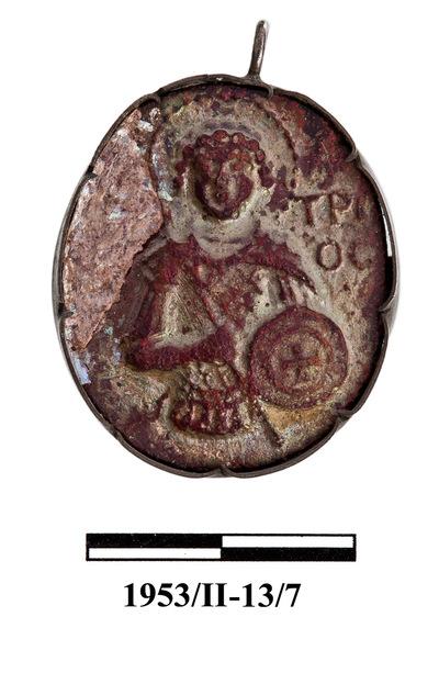 Cyprus Medieval Museum: Pendant (MM519, 1953/II-13/7)