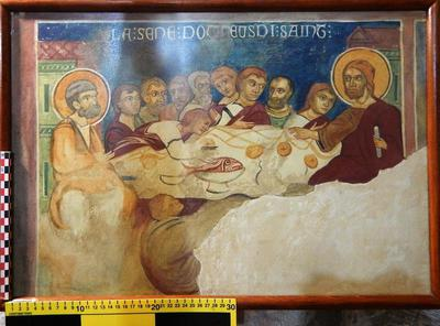 Cyprus Medieval Museum: Wall painting Copy (MM796)