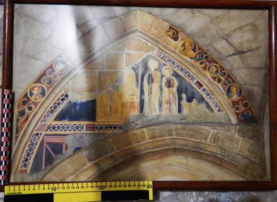 Cyprus Medieval Museum: Wall painting Copy (MM959)