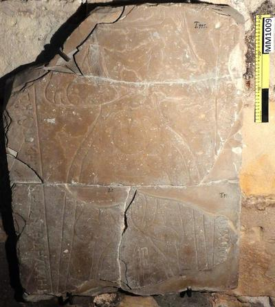 Cyprus Medieval Museum: Tombstone (MM1009, T. 115)