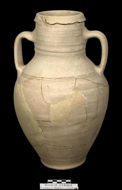 Cyprus Medieval Museum: Amphora (MM1094, No. 55 p. 10  1989/xi-14)