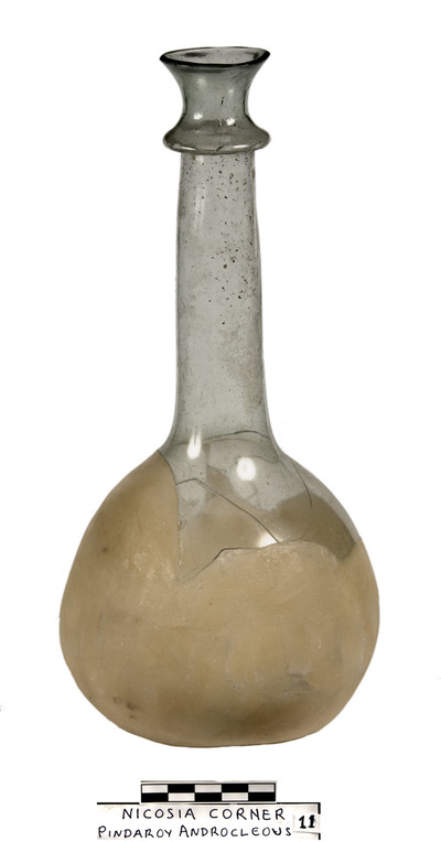 Cyprus Medieval Museum: Bottle (MM1099, No. 11 p. 6  1989/xi-14)