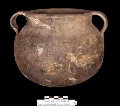 Cyprus Medieval Museum: Cooking Pot (MM1106, No. 46 p. 9  1989/xi-14)