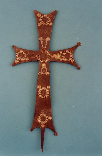 Μουσείο Ιεράς Μονής Κύκκου (Κύπρος): Σταυρός λιτανείας (Δ 214)