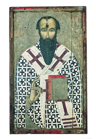 Μουσείο Ιεράς Μονής Κύκκου (Κύπρος): Εικόνα, Άγιος Βασίλειος (Ε 834)