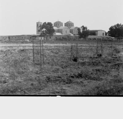 Press and Information Office, Republic of Cyprus: Agios Sergios (near Salamis), Saint Barnabas (2Β-139-001) Photograph taken 1966-10-10