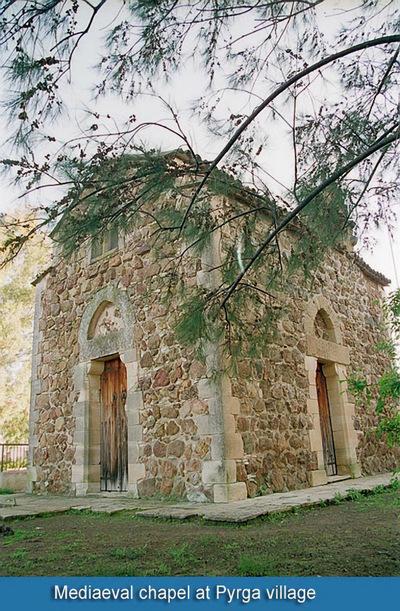 Press and Information Office, Republic of Cyprus: Pyrga, Latin Chapel (par03)