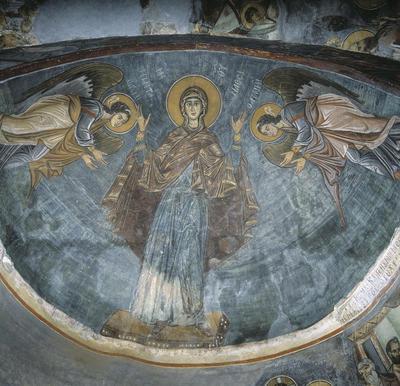 Press and Information Office, Republic of Cyprus: Nikitari, Church of Panagia (Our Lady) of Asinou (nikit01)