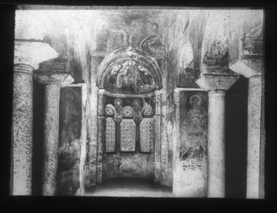 Basilica of Agios Demetrios, chapel of Agios Euthymios, Thessaloniki, Greece
