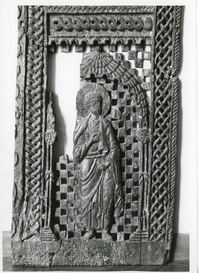 Chancel barrier door from the Byzantine Museum of Ioannina, Ioannina, Greece