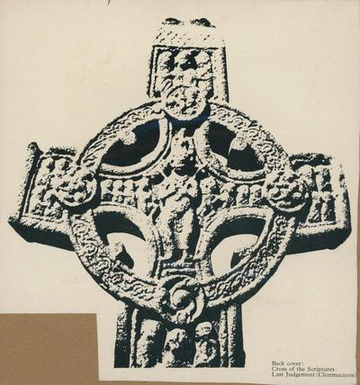 Back cover: Cross of the Sculptures, Last Judement (Clomnacnois)