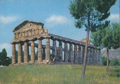 Paestum, tempio di Cerere