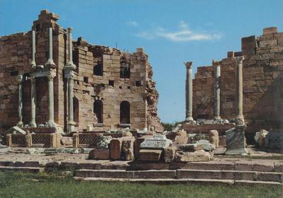 Leptis Magna (Libia): il ninfeo maggiore