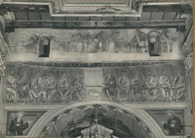 Badia Greca di Grottaferrata. La Basilica: Pitture e Mosaici dell'Arco Trionfale (sec. XII)