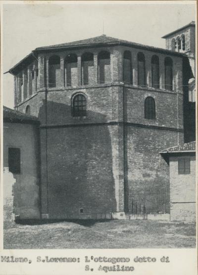 Milano, S. Lorenzo: L'ottagono detto di S. Aquilino