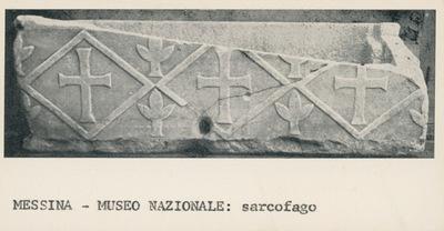 Messina. Museo Nazionale: sarcofago