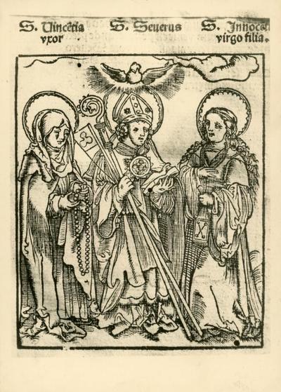 Breviario di Erfurt (1450) -incisione in legno-