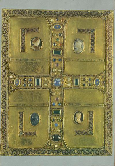 Monza. Tesoro del Duomo: Copertina di Evangeliario di Teodolinda