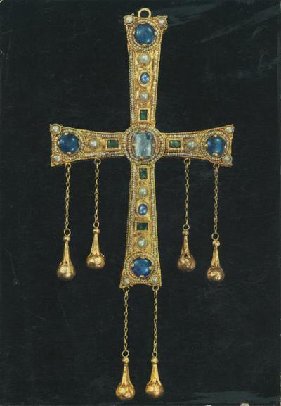 Monza. Tesoro del Duomo. Croce di Agilulfo (VI sec.)
