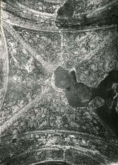 S. Prisco (Caserta). Cappella di S. Matrona: Mosaici (Foto Soprintendenza Monumenti Campania: n. 799 B)