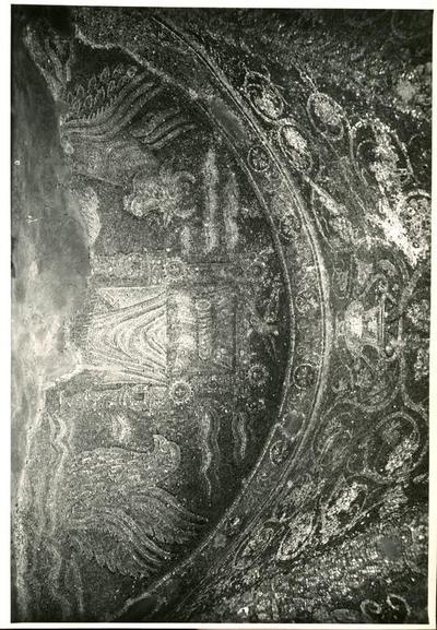 S. Prisco (Caserta). Cappella di S. Matrona: mosaici (Foto Soprintendenza Gallerie Napoli, n. 11703)