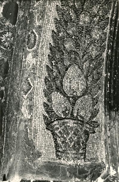 S. Prisco (Caserta). Cappella di S. Matrona: mosaici (Foto Soprintendenza Gallerie Napoli, n. 11690)