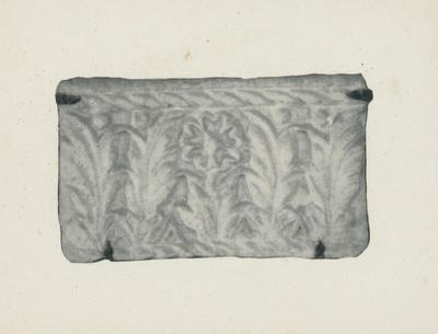 Ravenna: Museo Nazionale. Frammento di stucco
