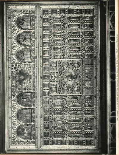 Venezia. Basilica di S. Marco. La Pala d'Oro (dell'epoca Bizantina)