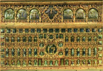 Venezia. Basilica di S. Marco. La Pala d'Oro