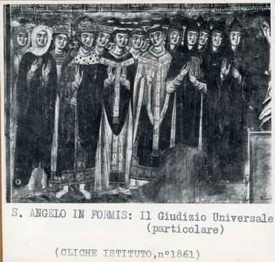 S. Angelo in Formis. Giudizio Universale (particolare)