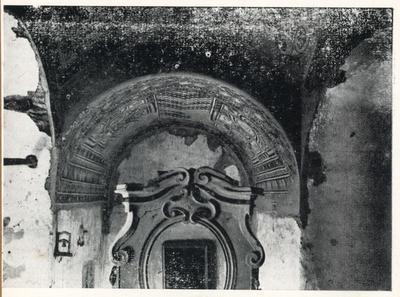 Casaranello. Veduta complessiva della parte del sacello decorata con mosaici