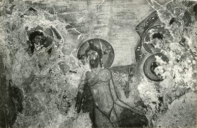 Sagrí (Nasso). Grecia. S. Nicola:il battesimo