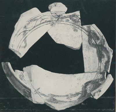Hierapolis (Turchia): Case delle terme. Ceramica invetriata a sgraffito rinvenuta nel I ambiente del fabbricato occidentale