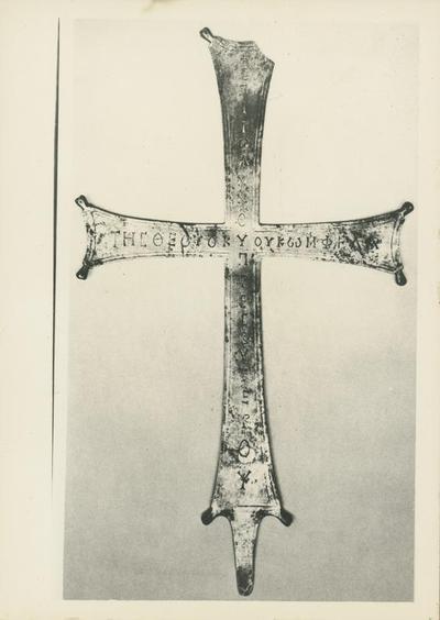 Washington, Dumbarton Oak Collection. Croce argentea di Phela