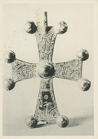 Washington, Dumbarton Oak Collection. Croce pettorale in bronzo