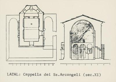 Latal: Cappella dei Ss. Arcangeli (sec. XI)