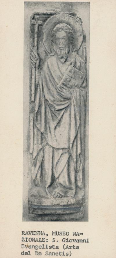 Ravenna. Museo Nazionale: S. Giovanni Evangelista (Arte del De Sanctis)