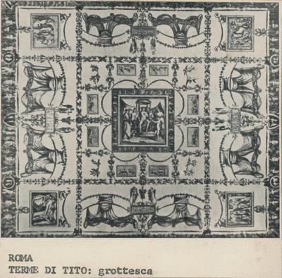 Roma, Terme di Tito: grottesche