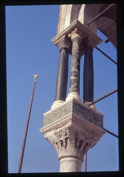 Venice, St. Mark's Basilica, impost capital and columns
