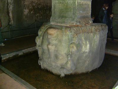 Turkey, Istanbul, Basilica Cistern - Yerebatan Sarnıcı