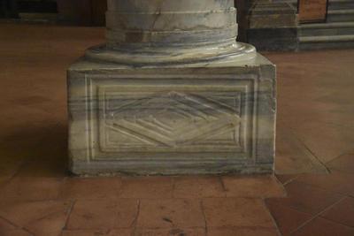 Ravenna, S. Apollinre in Classe. Column base