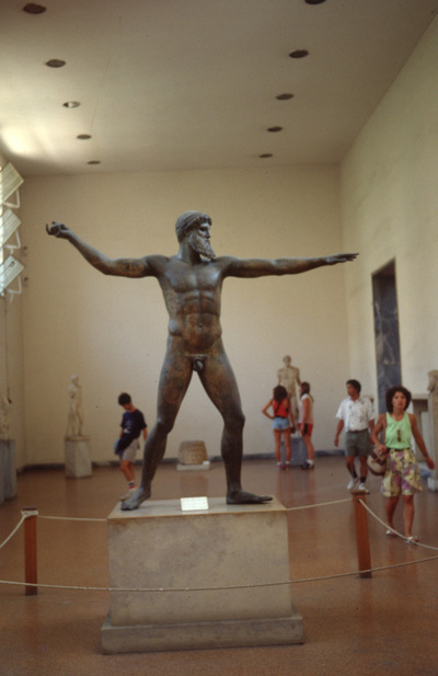 Greece, Athens, National Archaeological Museum of Athens, Artemision Bronze