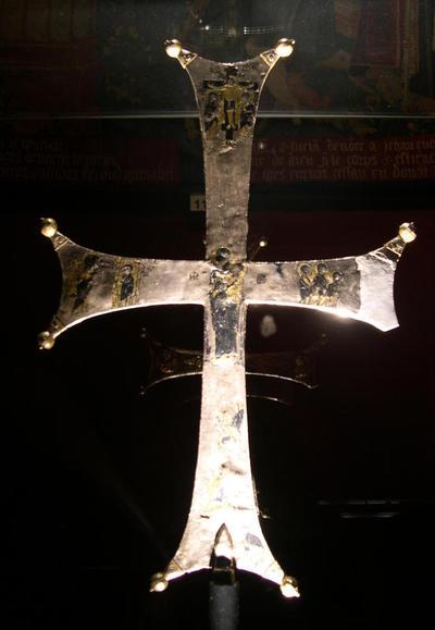 Paris, Musée National du Moyen Âge, votive cross