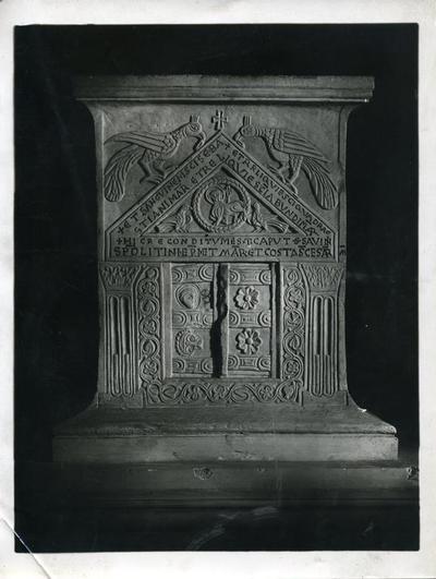 Chiesa dei Cavalieri di Malta - Fot. Governatorato Roma Neg. X Rip 18 x 24 n. 602