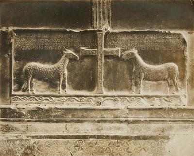 Narni, Cattedrale. Cappella dei Ss. Cassio e Giovenale, particolare. VI-VII secolo