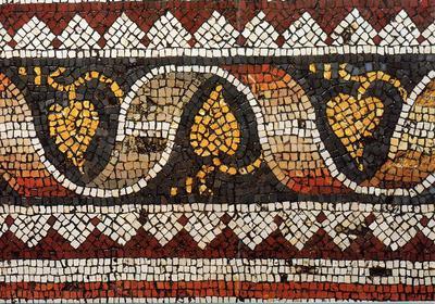 The Great Palace (Mosaic Museum), Istanbul, Mosaic pavement, ca. 500