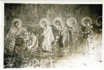 Arta, Mon. Kato Panaghia, 4. Bema, Prothesis, Communion des Apotres - Pericles Papahadjidakis, 14, Apollonos, Athens, K - Greece